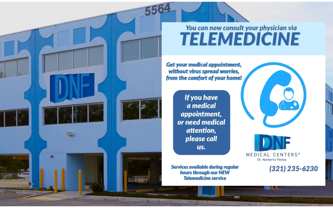 Telemedicine Now Available